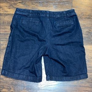 Talbots Shorts - Talbots 14P Jean shorts excellent condition.